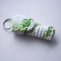 Lavender Lizard Lip Balm Holder
