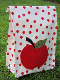 Oilcloth Lunch Sack