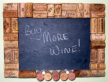 The Crafty Wino's Corky Message Board