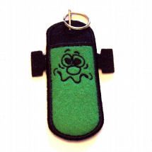Mindy's Embroidery Lip Balm Holder