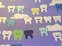 Teeth Fabric