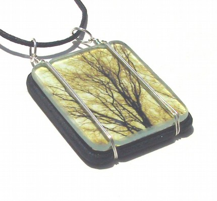Sunset Branches Dreamscape Pendant
