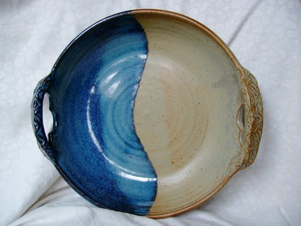 Ant's Pottery: Large Stoneware Bowl