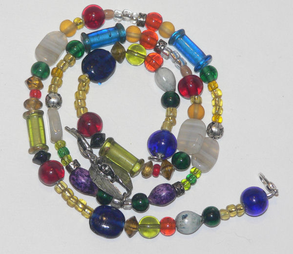 Beaded Necklace from Chia