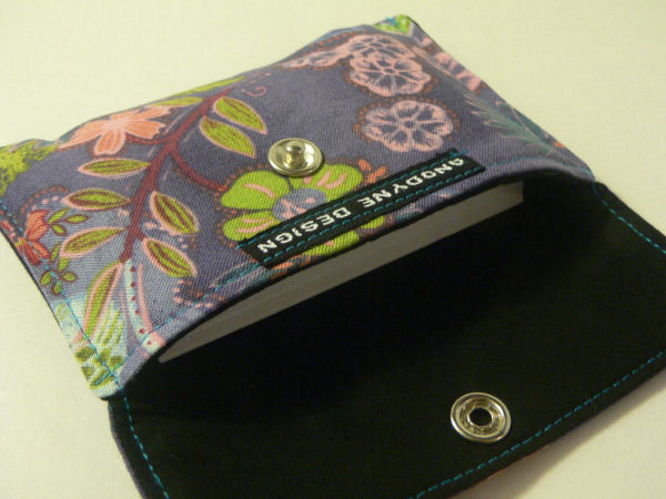 Moonlight Garden Card Wallet