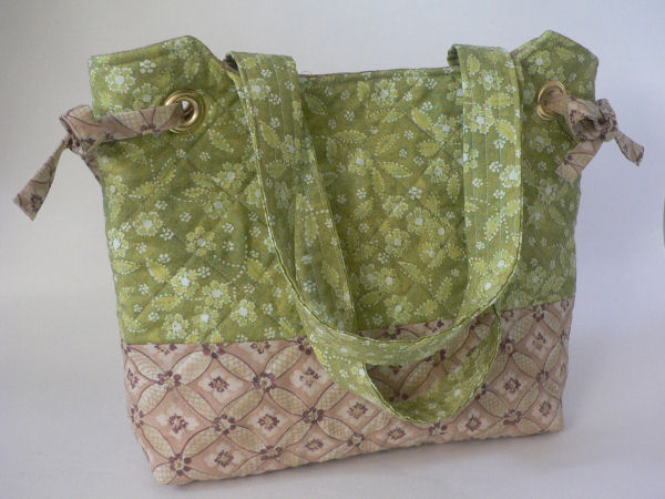 """Ready for a Picnic"" Quilted Handbag"