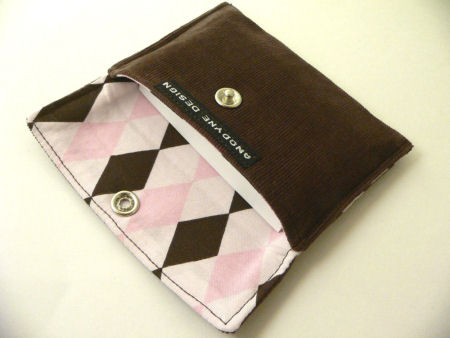 Modern Diamonds Card Wallet