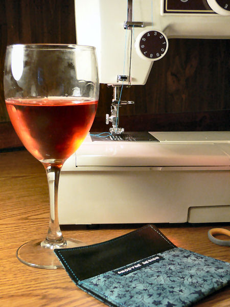 Hard at Work: Wine and Card Wallets