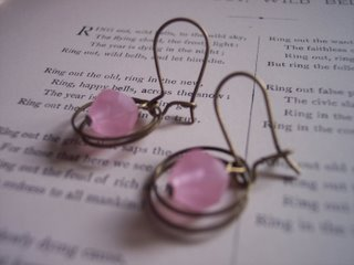Pretty In Pink Earrings from Jezebel's Jewels