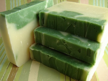 English Cucumber Handmade Soap by Pixie Soap
