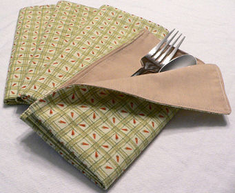 Eat Your Vegetables Cloth Napkins