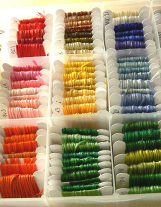 Embroidery Thread Order