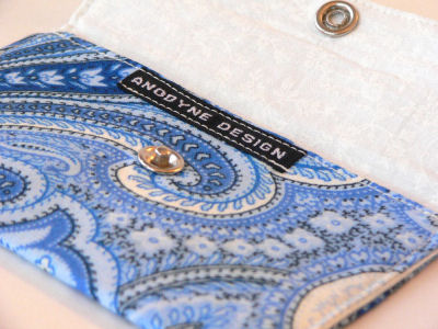 Paisley Sea Card Wallet
