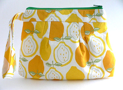 Carefree Wristlet in Lemonade