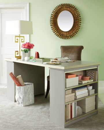 Martha Stewart's Bookcase & Door Desk