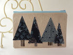 Winter Trees Pouch
