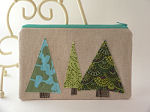 Wintergreen Trees Pouch