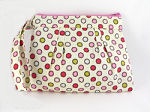 Carefree Wristlet in Bubblegum Dots